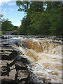 SD8167 : The River Ribble at Stainforth Force by Karl and Ali