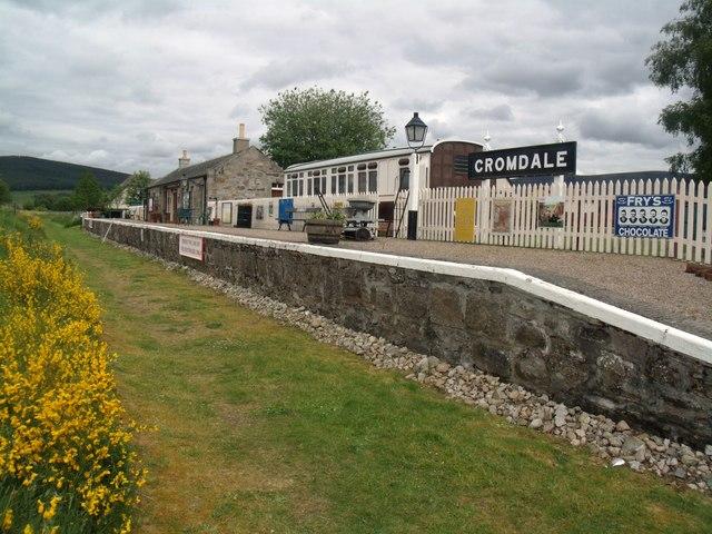 Cromdale Station