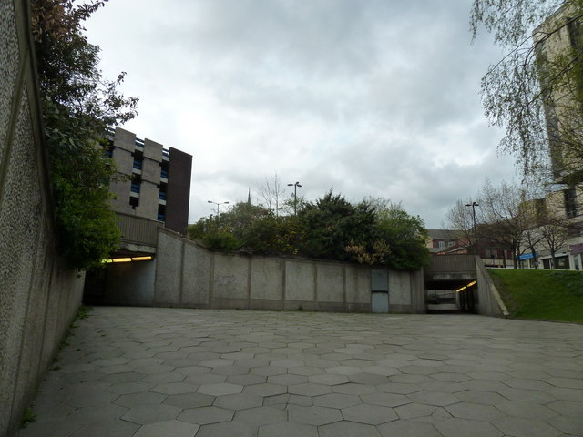 Seen from the Furnival Gate Underpass (d)