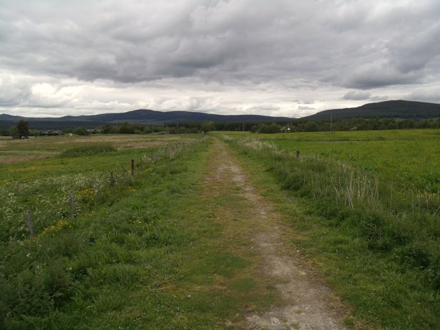 Dismantled railway, Cromdale