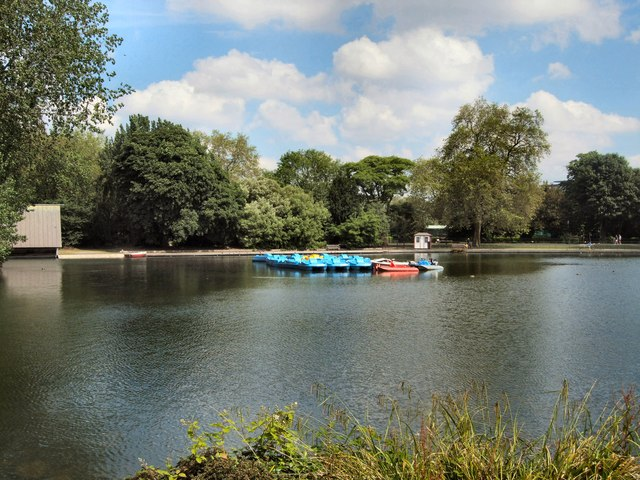 Boating Lake -Battersea Park