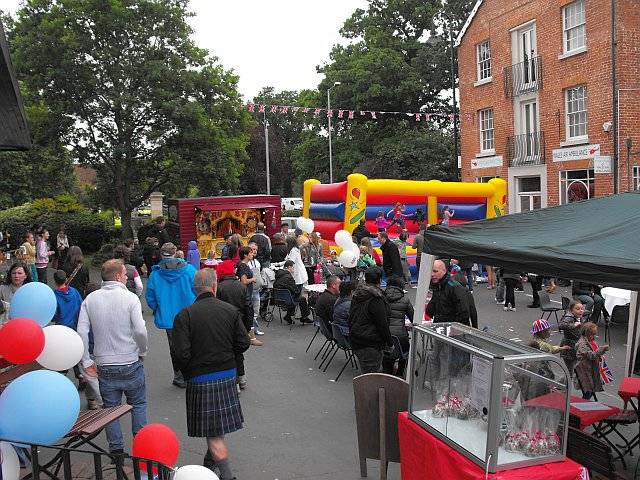 Diamond Jubilee street party