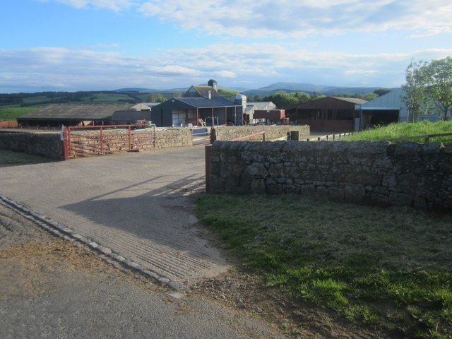 Entrance to East Horton Farm