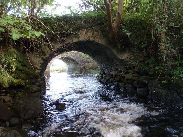 Two bridges at The Lough Head