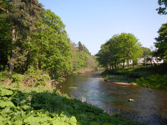The River Coquet Below Rothbury