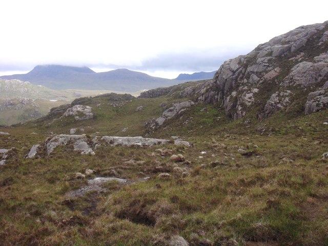 Moorland crags