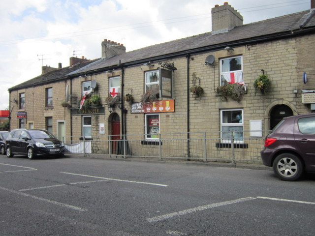 The Reindeer public house on Huddersfield Road