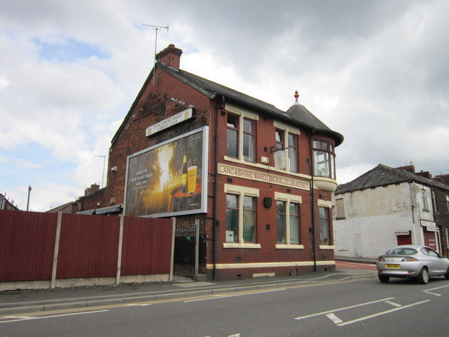 The Lancashire Ward Liberal Club on Stamford Street