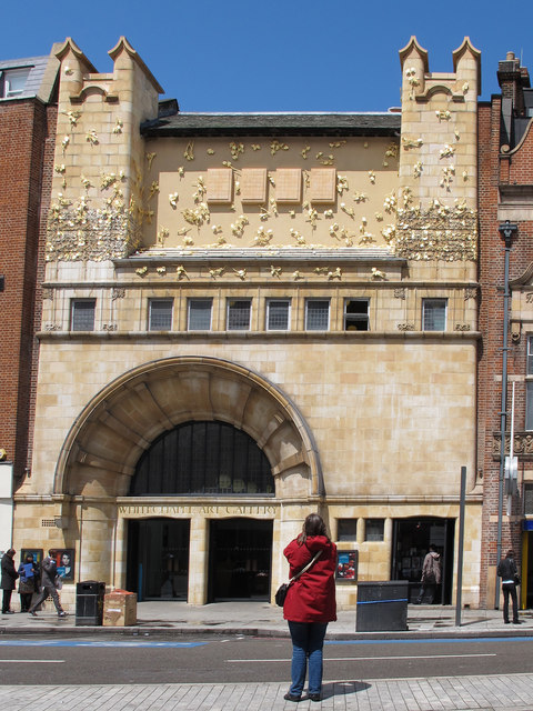 Rachel Whiteread's new Façade at Whitechapel Art Gallery