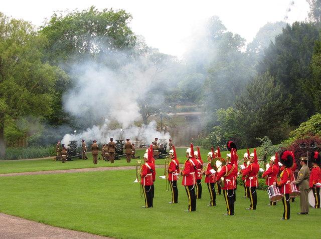Royal Salute in York