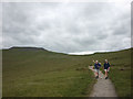 SD7574 : The Three Peaks footpath on Simon Fell Breast by Karl and Ali