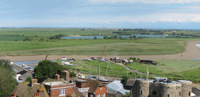 View from Rye Church