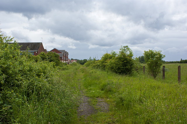 A footpath to Simonswood brook