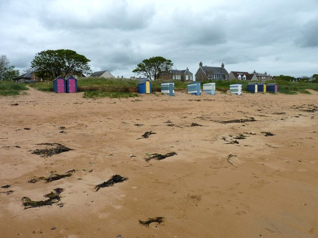 Colourful huts