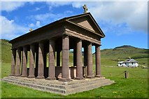 NM3395 : Isle of Rum - Harris Mausoleum by Robert Stalham