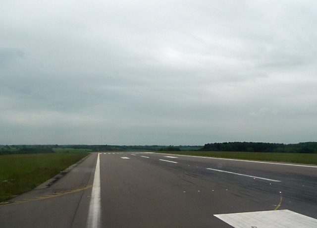 Luton Airport runway