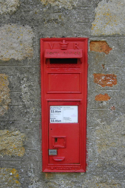 Victorian wall box, Udny Green