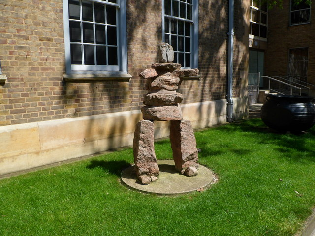 'Inukshuk'  - Scott Polar Research Institute, Cambridge