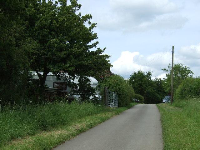 Sandye Lane heading north