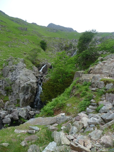 Waterfalls Stickle Ghyll