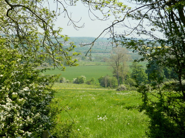 Erewash Valley from near Codnor Castle