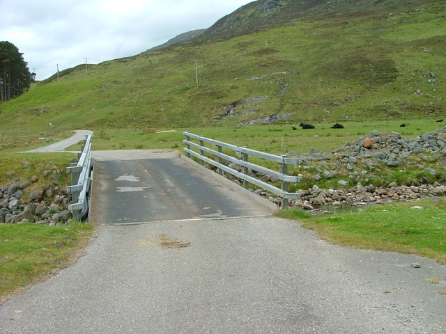Bridge over the Liatrie Burn