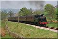 SE0336 : Steam Train near Haworth by Wayland Smith