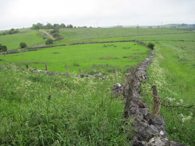 Fields above Intake Quarry