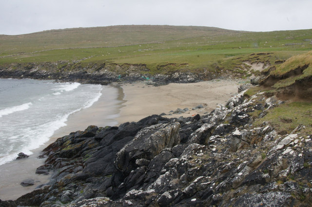 The 'peerie sands' of Norwick