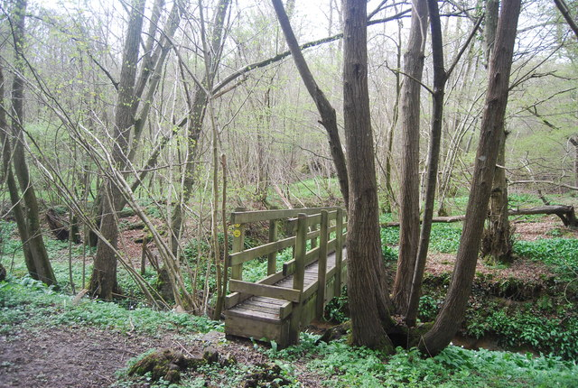 Footbridge, High Weald Landscape Trail