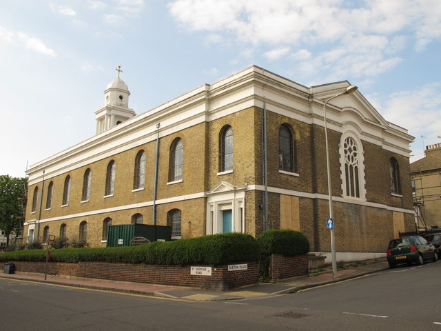 St. George's Church, St. George's Road / Paston Place, BN2