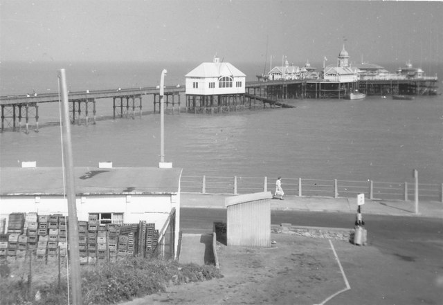 Margate Pier in 1961