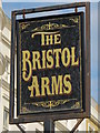 TQ3203 : Sign for The Bristol Arms, Marine Parade / Paston Place, BN2 by Mike Quinn
