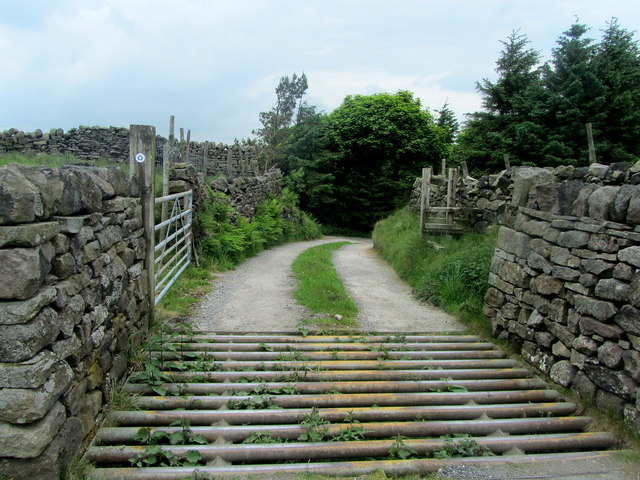 Access Track leading away from Knarrs Hill Farm
