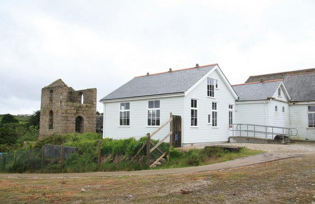 King Edward School of Mines - winding engine house