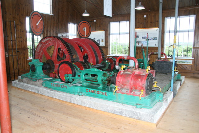 King Edward School of Mines - winding engine