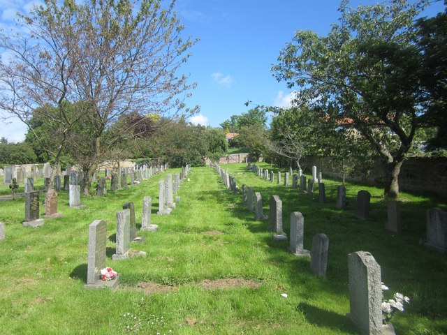 St Mary's graveyard - nearly full