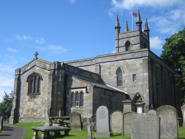 St Mary's parish church, Belford