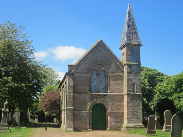 Western chapel in Tweedmouth Cemetery