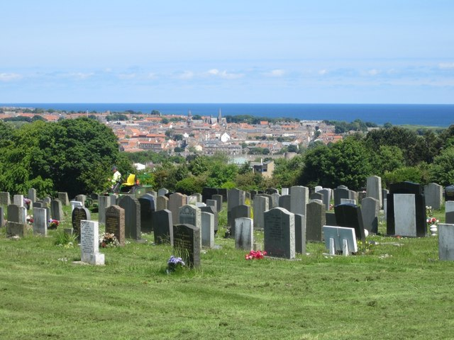 Graves with a view