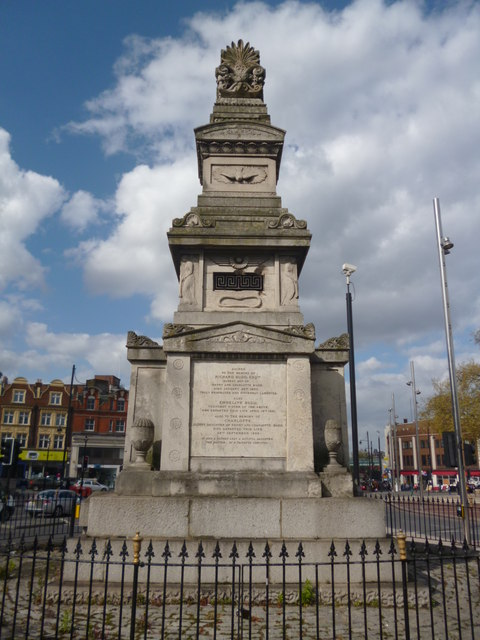 Budd Monument, St Matthew's Church, Brixton Hill SW2