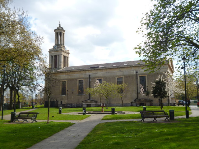 Side, St Matthew's Church, Brixton Hill SW2