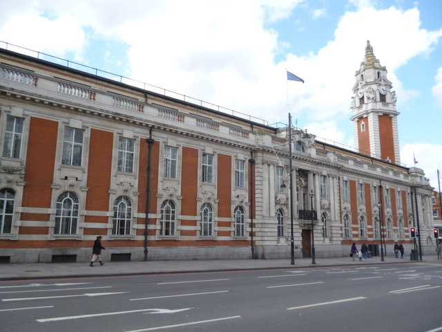 Lambeth Town Hall, Brixton Hill SW2