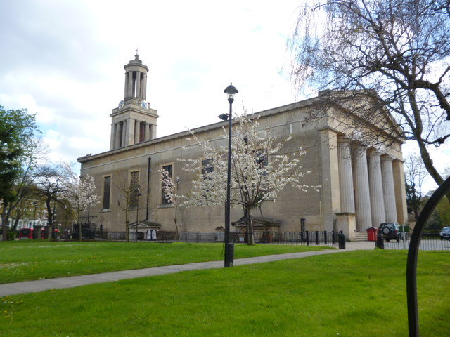 St Matthew's Church and gardens, Brixton Hill SW2