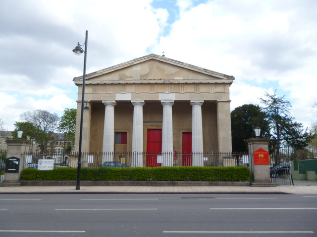 Frontage of St Matthew's Church, Brixton Hill SW2