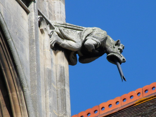 Gargoyle on The Church of Our Lady and the English Martyrs, Cambridge