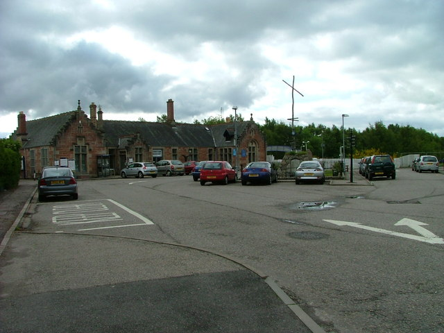 Dingwall Railway Station