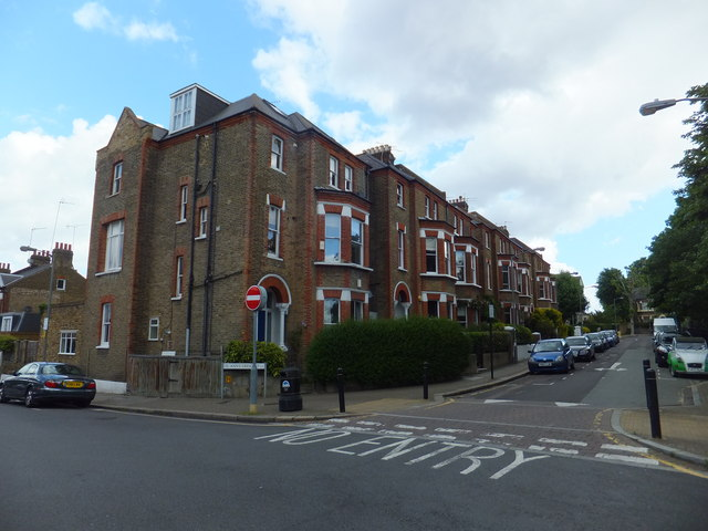 Houses in St Ann's Crescent, Wandsworth