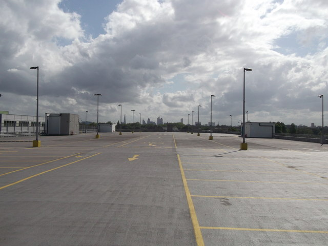 Top floor of Multi-storey Carpark, Olympic Park