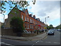 TQ2674 : Houses in Rosehill Road, Wandsworth by PAUL FARMER